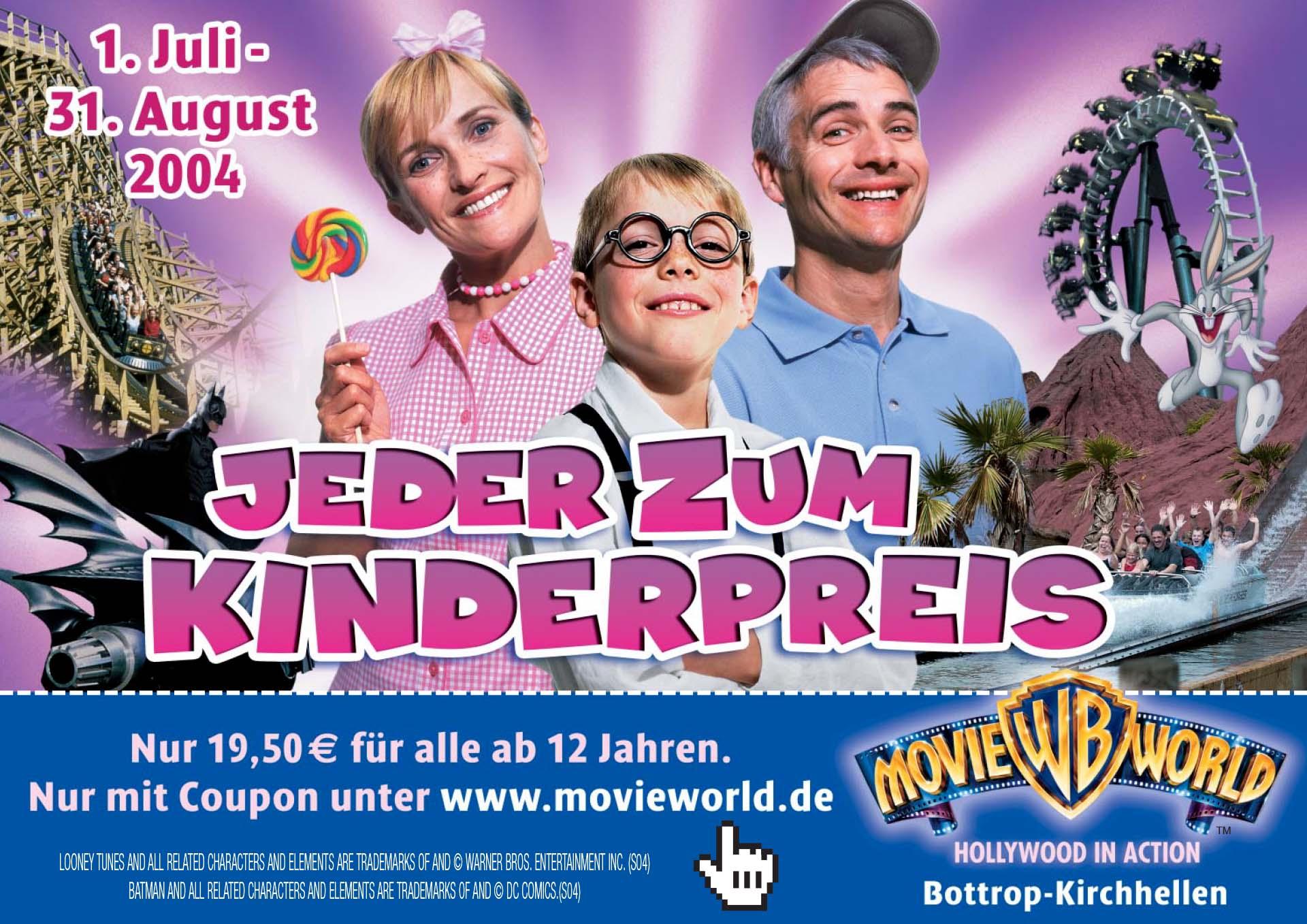 Plakate erstellen: Plakatwerbung_Freizeitpark