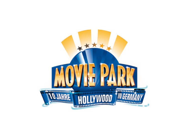 Corporate Design Movie Park Germany - Jubiläumslogo