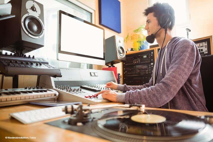 Radiospots in NRW - Studioaufnahme