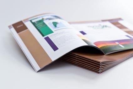 Broschüren erstellen, gutes Design vermittelt Qualität