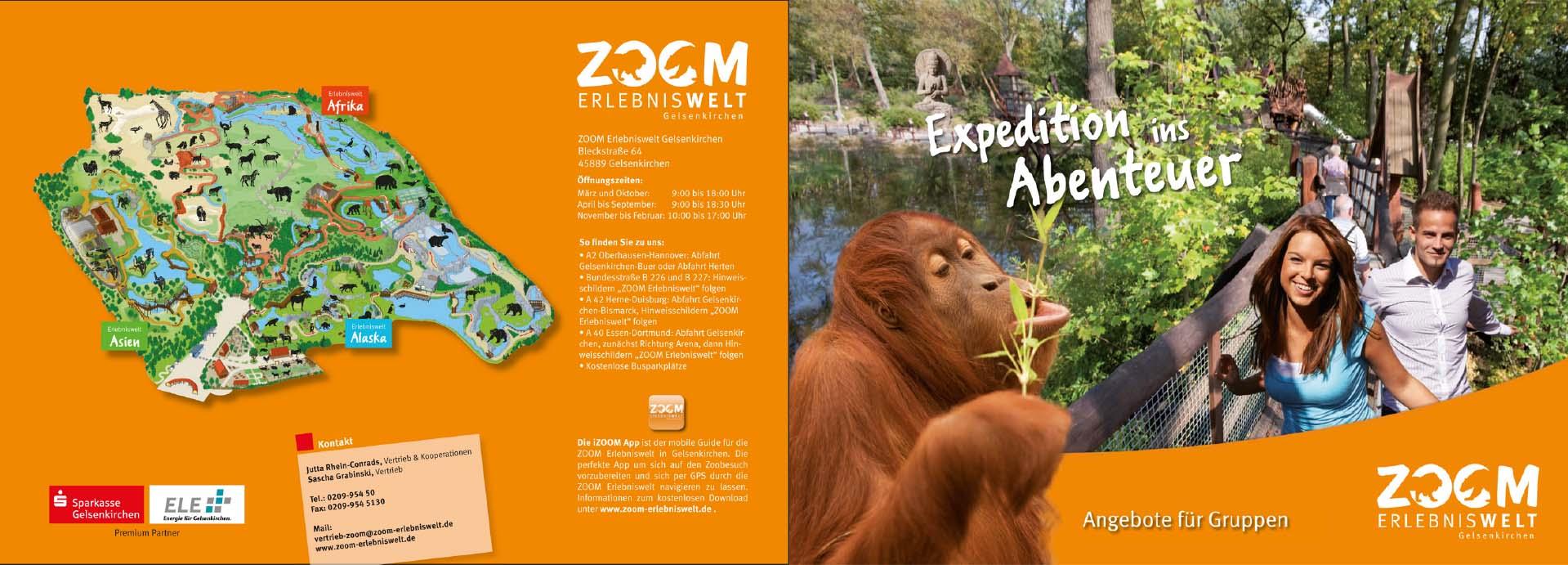 Gruppenangebote der ZOOM Erlebniswelt für Reiseveranstalter, Firmen und Vereine.
