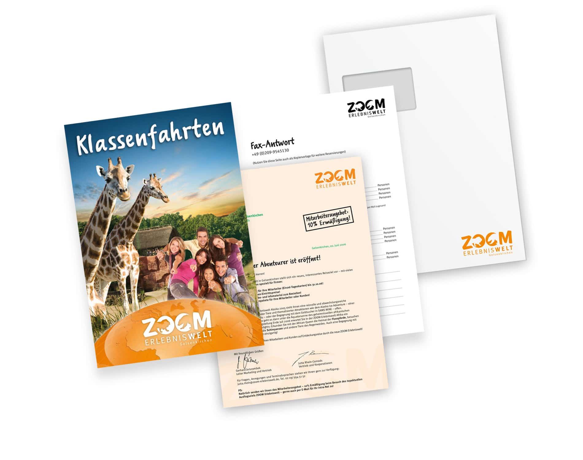 Printmedien für das Dialogmarketing, Broschüre, Anschreiben, Formulare