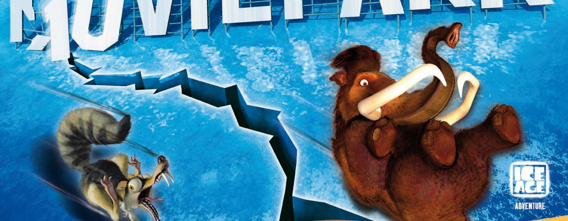 Ice Age Poster des Movie Parks
