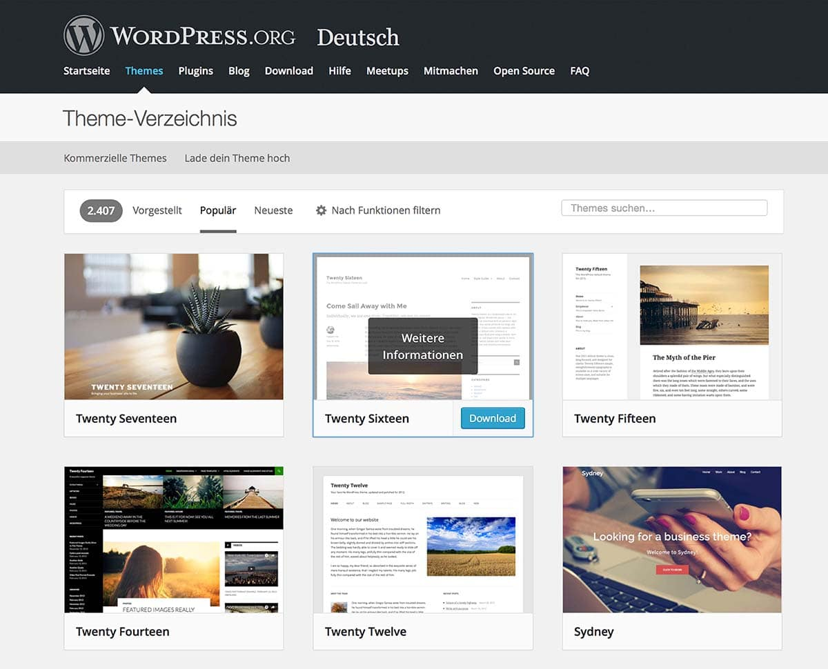 WordPress Seminar in Dortmund, Thomas Herr Mediendesign