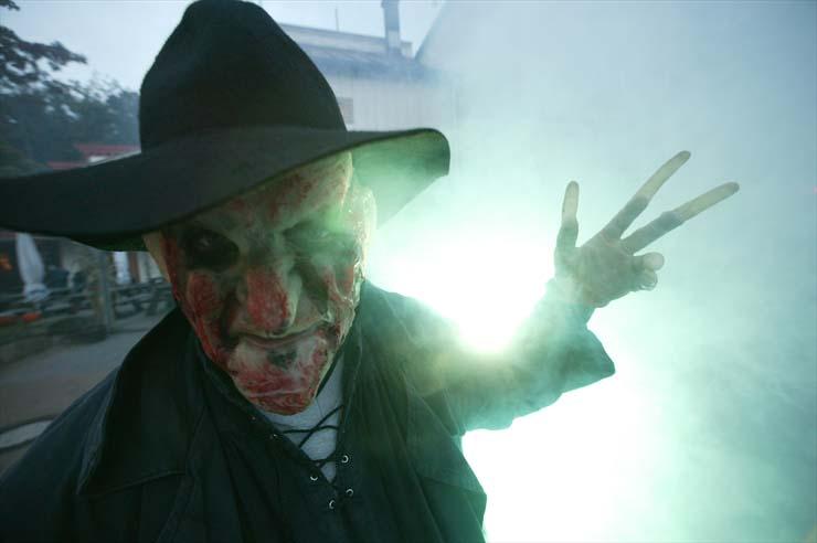Halloween Fotoshooting Monster