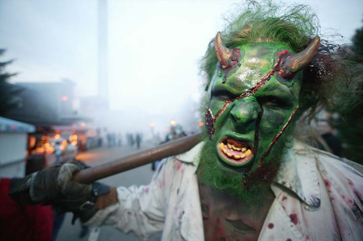 Monster Fotoshooting Monster Teufel