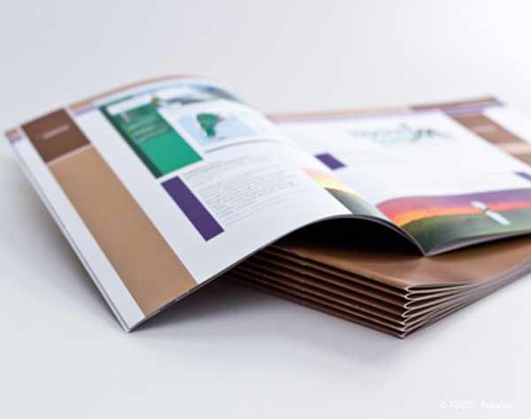 Konzeption und Entwurf hochwertiger Broschüren