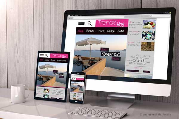 Webdesign für kleine Unternehmen
