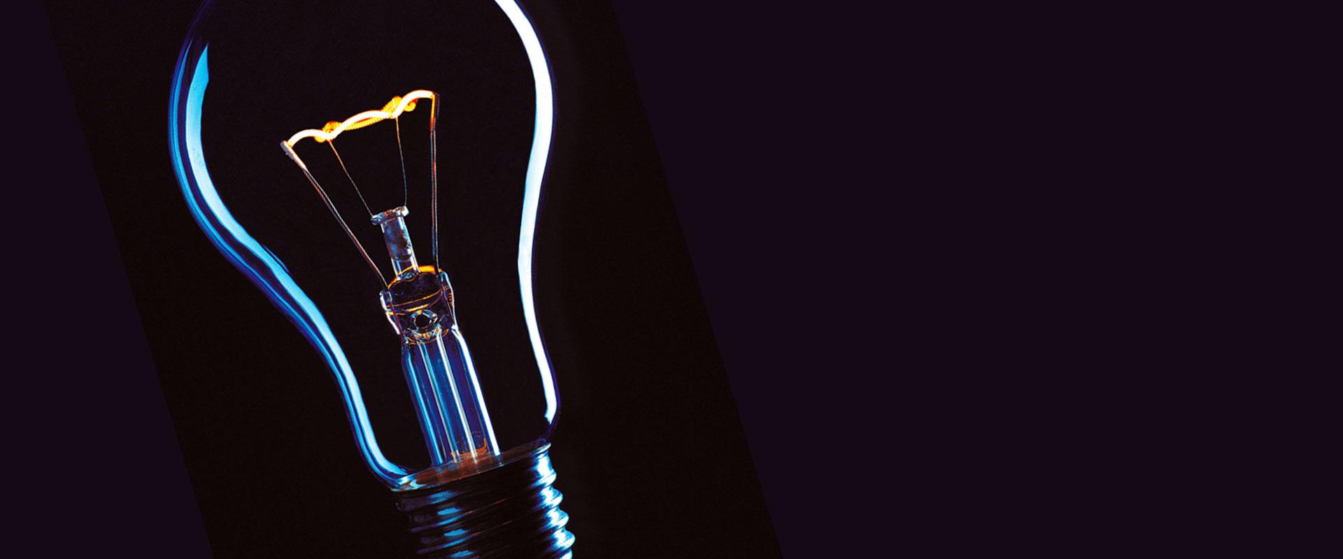 Glühlampe als Symbolbild für die Entwicklung von Marketingkonzepten