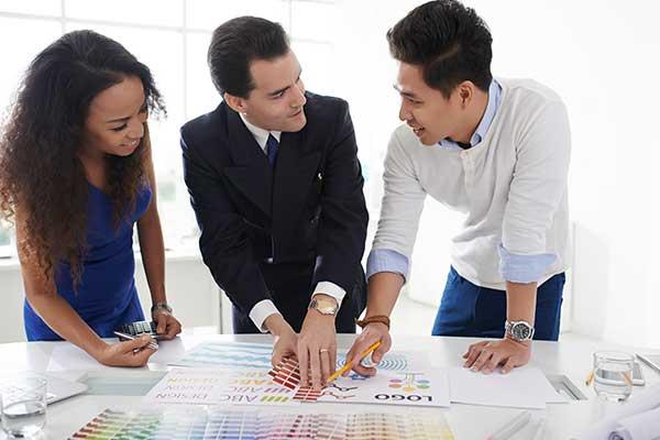 Marketingbetreuung täglicher Aufgaben