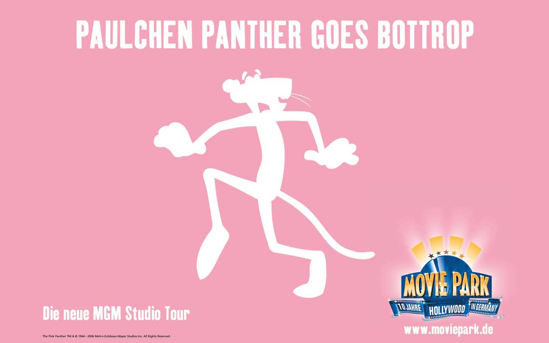 Blow Up Plakat; Motiv Paulchen Panther