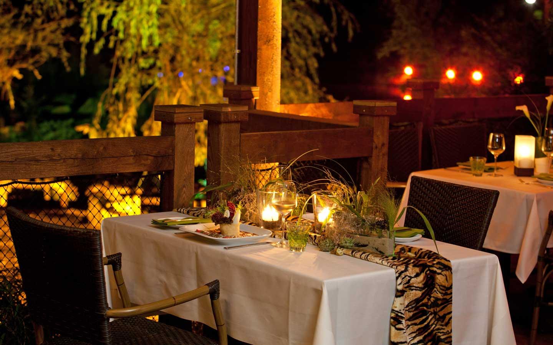 Candle Light Dinner in der ZOOM Erlebniswelt