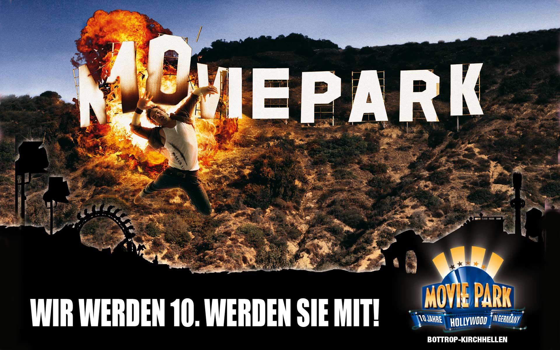 Plakatwerbung; Marketingberatung zur Eröffnung einer Stunt Show