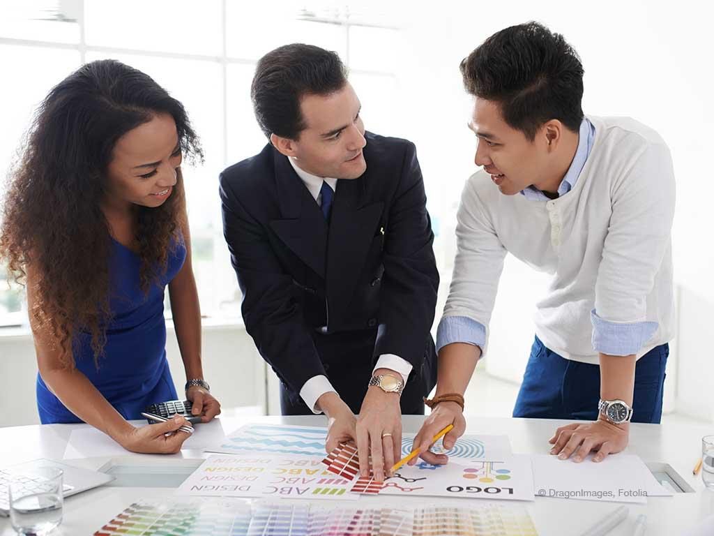 Farbdefinitionen Corporate Design